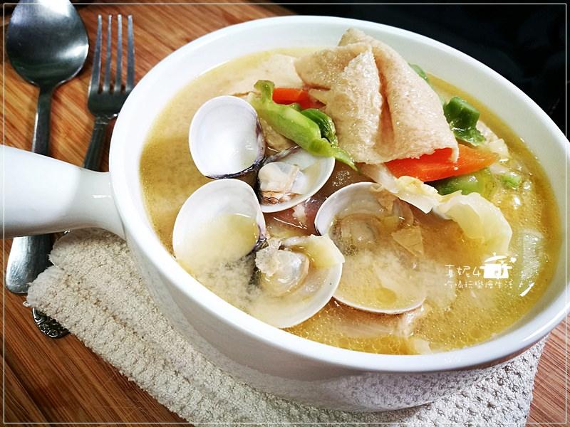 蔬菜味噌湯